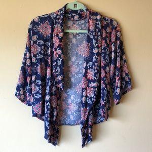 Hollister Cover Up / Kimono Blouse